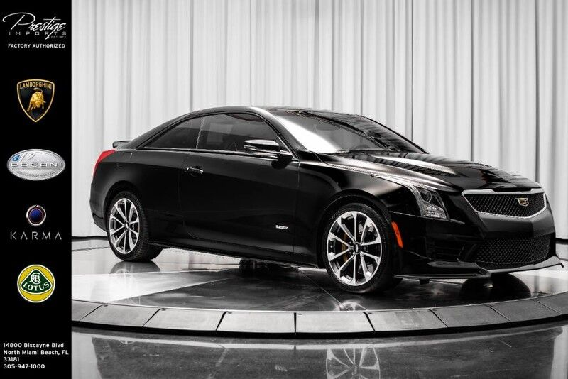 2016_Cadillac_ATS-V Coupe__ North Miami Beach FL