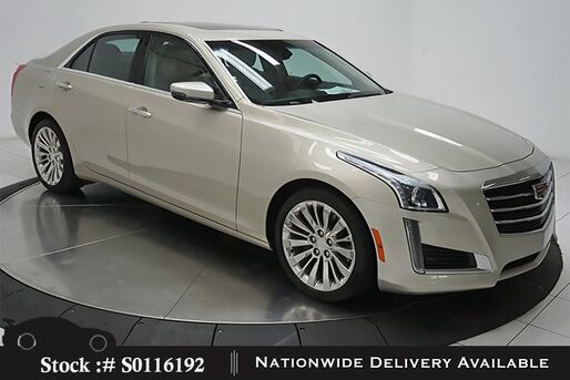 2016_Cadillac_CTS_2.0L Turbo Luxury NAV,CAM,PANO,CLMT STS,BLIND SPOT_ Plano TX
