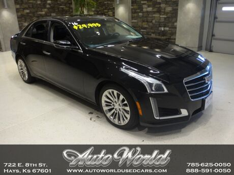 2016 Cadillac CTS LUXURY AWD TURBO  Hays KS