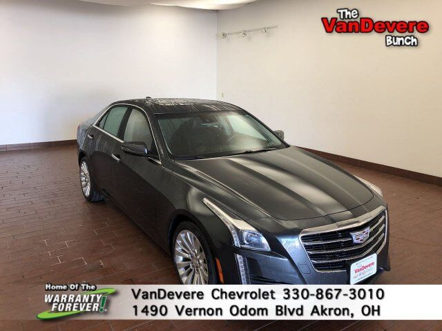 2016 Cadillac CTS Sedan Luxury Collection AWD Akron OH