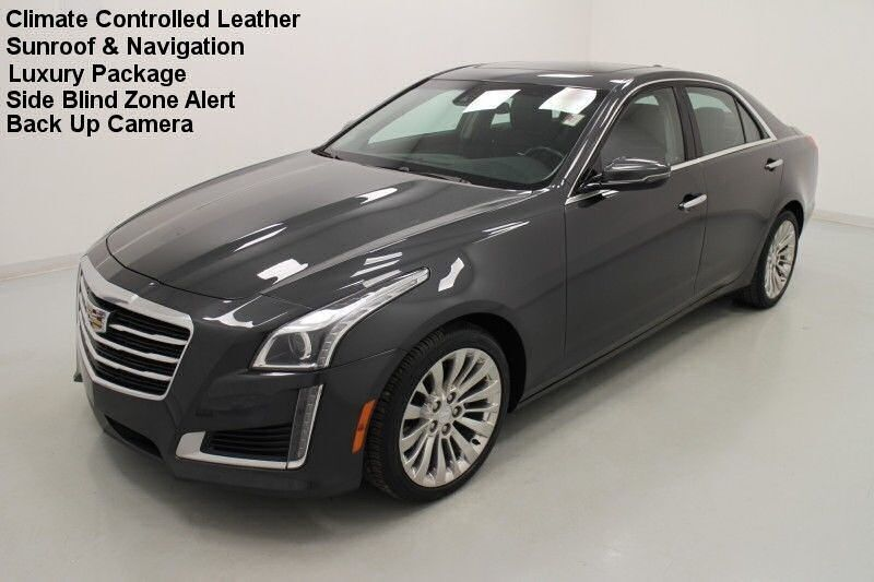 2016 Cadillac CTS Sedan Luxury Collection AWD Bonner Springs KS
