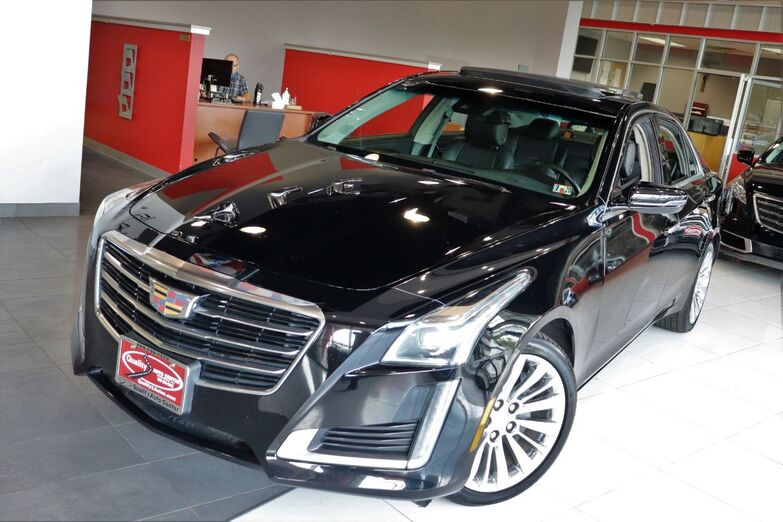 2016 Cadillac CTS Sedan Luxury Collection AWD Navigation Sunroof Backup Camera Springfield NJ