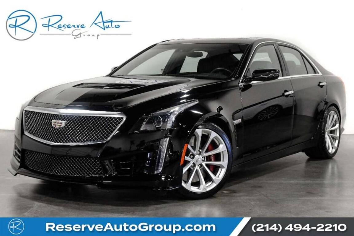 2016 Cadillac CTS-V Sedan Luxury Pkg Pano Roof One Owner The Colony TX