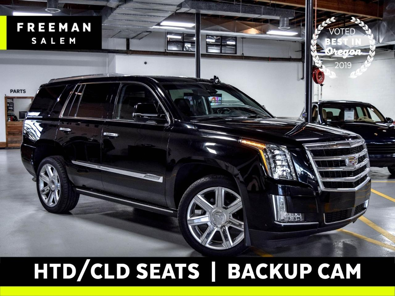 2016 Cadillac Escalade 4WD Premium Collection Rear DVD Salem OR