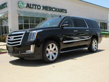 2016_Cadillac_Escalade_ESV 2WD Luxury, LEATHER SEATS, NAVIGATION, BLIND SPOT MONITOR, HEATED AND COOLED FRONT SEATS, LANE D_ Plano TX