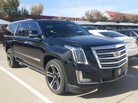 2016_Cadillac_Escalade ESV_Platinum Edition /PLATINUM PKG/LANE WARNING/NAV/CAM/HEAD-UP/BOSE_ Euless TX
