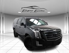 2016 Cadillac Escalade ESV Platinum Edition *PREVIOUSLY OWNED BY THE WEEKND*Batmobilized*