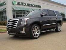 2016_Cadillac_Escalade_Luxury 2WD 6.2L 8CYL AUTOMATIC, LEATHER SEATS, NAVIGATION, DVD ENTERTAINMENT SYSTEM, SUNROOF_ Plano TX