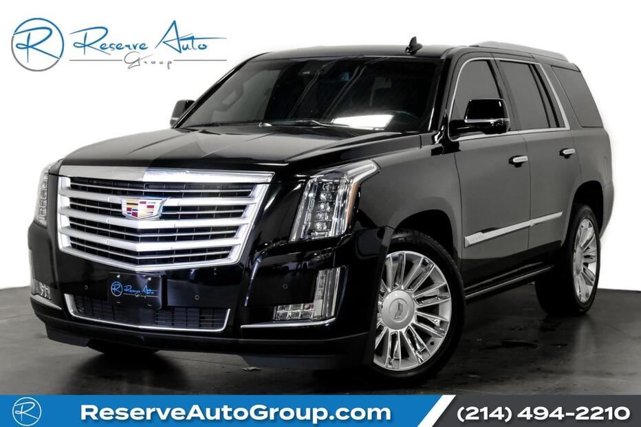 2016_Cadillac_Escalade_Platinum Moonroof Captain Seating One Owner_ The Colony TX
