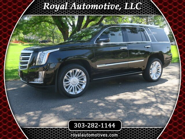 2016 Cadillac Escalade Platinum W/ Navigation and Entertainment Package Englewood CO