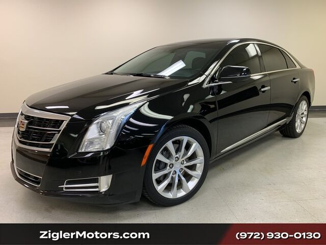 2016 Cadillac XTS AWD Luxury Collection Navigation Backup Camera Driver Assist One Owner Clean Carfax Addison TX