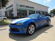 2016_Chevrolet_Camaro_1LT Convertible CLOTH, BACKUP CAMERA, KEYLESS START, CLIMATE CONTROL, UNDER FACTORY WARRANTY_ Plano TX
