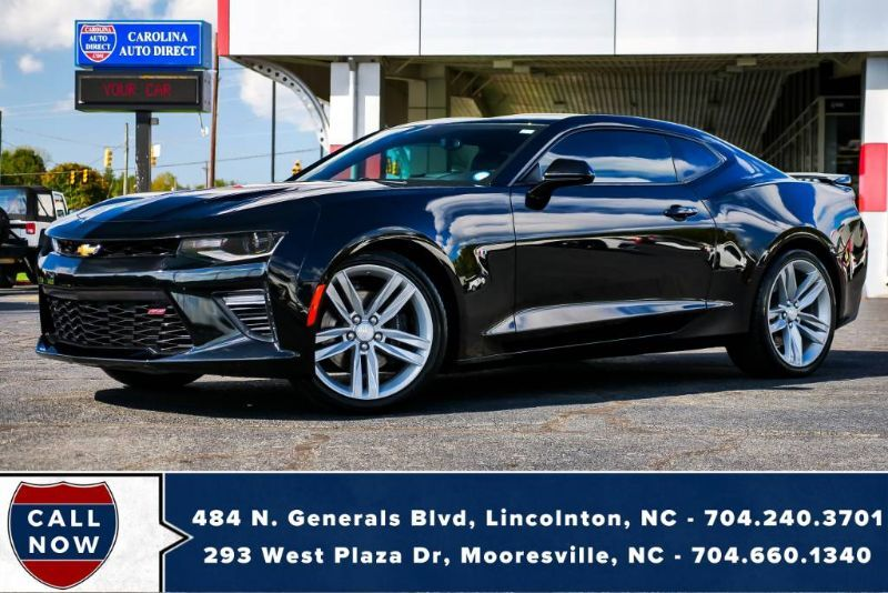 2016 Chevrolet Camaro 2SS *MANUAL* w/ Head-Up Display & Magnetic Ride Control Mooresville NC