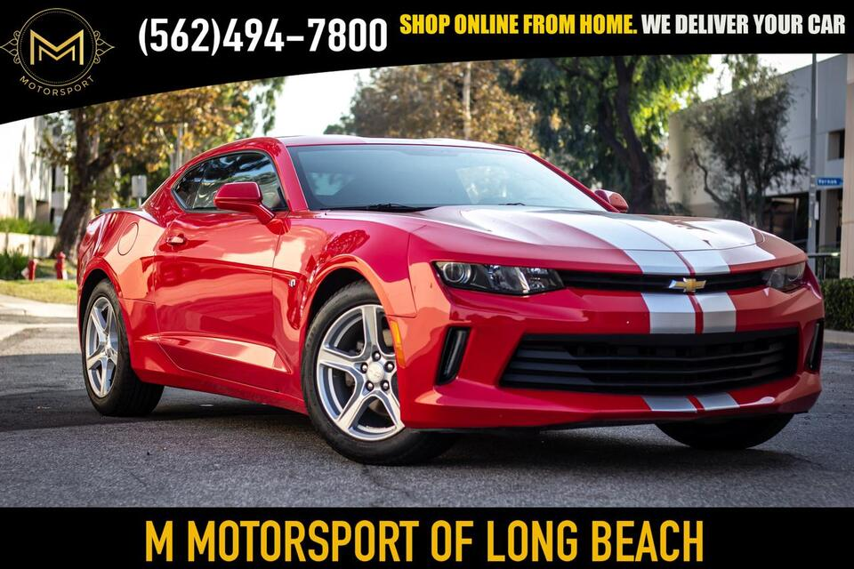2016_Chevrolet_Camaro_LT Coupe 2D_ Long Beach CA