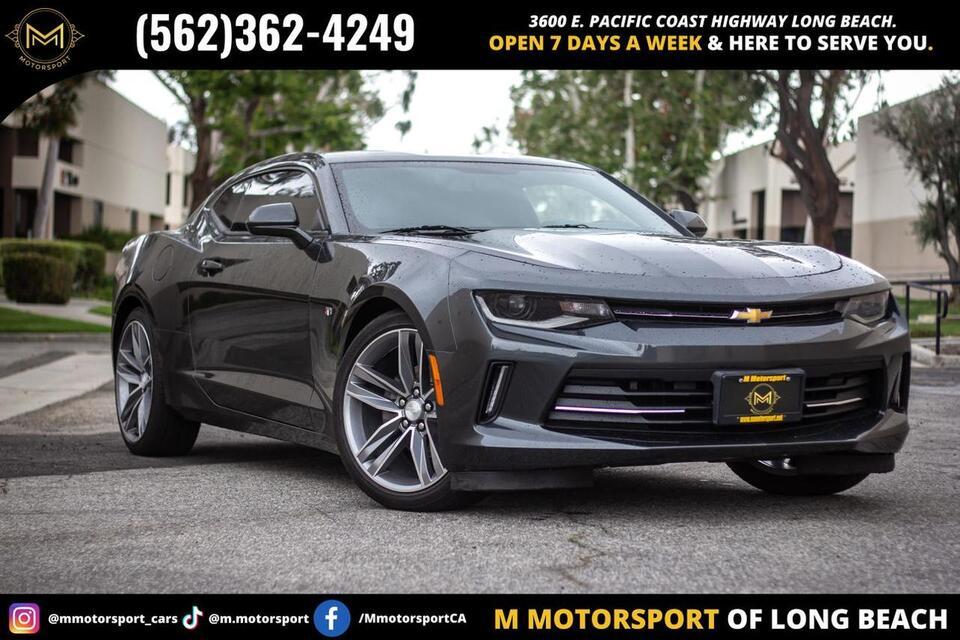 2016_Chevrolet_Camaro_LT Coupe 2D_ Long Beach CA