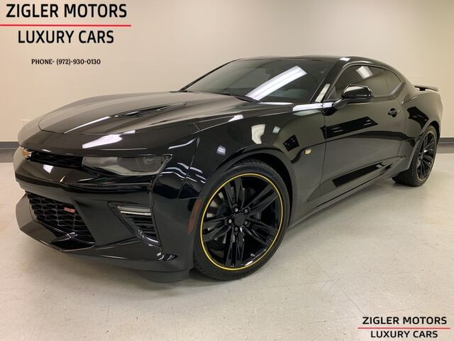 2016 Chevrolet Camaro SS One Owner 17 kmi Clean Carfax Heads up Nav Backup Camera Bose Addison TX
