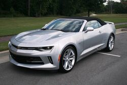 Chevrolet Camaro Very Clean - Low Mileage - Local Trade In - Navigation - Heads Up Display - Heated and Cooled Seats - Awesome Media Package - Spoiler - 20 Inch Alloy Wheels 2016