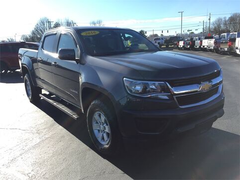 2016_Chevrolet_Colorado_4WD_ Evansville IN