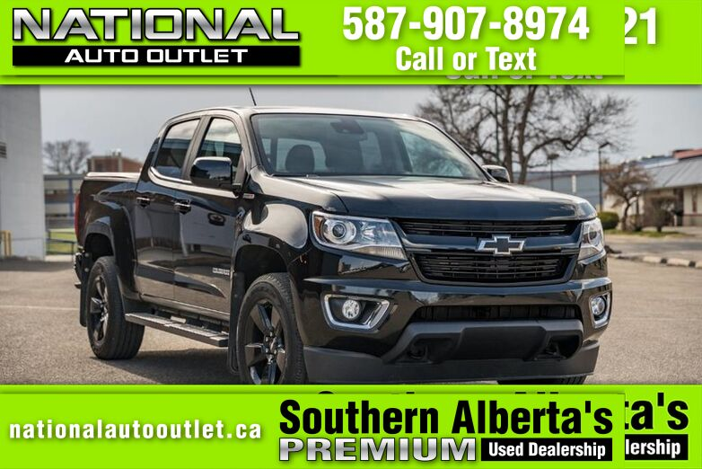 2016 Chevrolet Colorado 4WD LT - DIESEL- ONE OWNER - NAVIGATION - CLEAN CARFAX Lethbridge AB