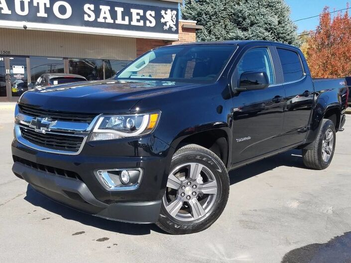 2016 Chevrolet Colorado 4WD LT West Jordan UT