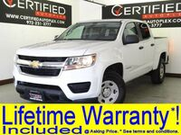 Chevrolet Colorado CREW CAB WT SHORT BOX 3.6L V6 REAR CAMERA POWER SEAT TOW PACKAGE 2016
