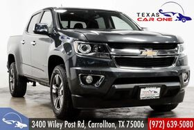 2016_Chevrolet_Colorado_LT CREW CAB NAVIGATION LEATHER HEATED SEATS REAR CAMERA BLUETOOTH_ Carrollton TX