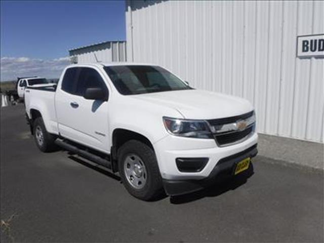 2016 Chevrolet Colorado WT 4x4 Extended Cab 6 ft. box 128.3 in. WB