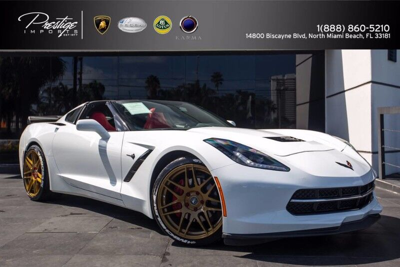 2016_Chevrolet_Corvette_1LT SUPERCHARGED_ North Miami Beach FL