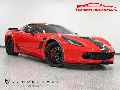 2016_Chevrolet_Corvette Z06_2 Owner HUD Two Tone Interior Both Tops Nav Back Up Camera Loaded_ Hickory Hills IL