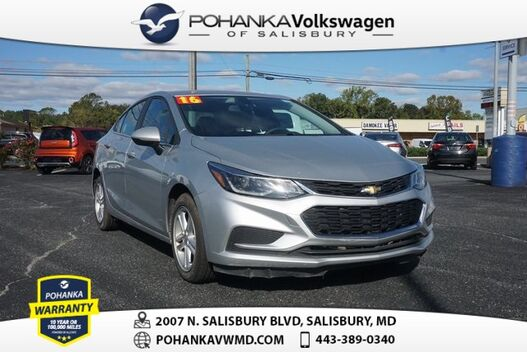 2016_Chevrolet_Cruze_LT ** GUARANTEED FINANCING ** CHECK IT OUT ** 42 MPG_ Salisbury MD