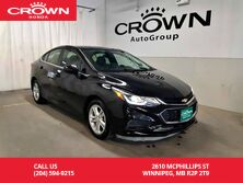 2016 Chevrolet Cruze LT/ACCIDENT-FREE HISTORY/ ONE OWNER/ LOW KMS/ BACK UP CAM/