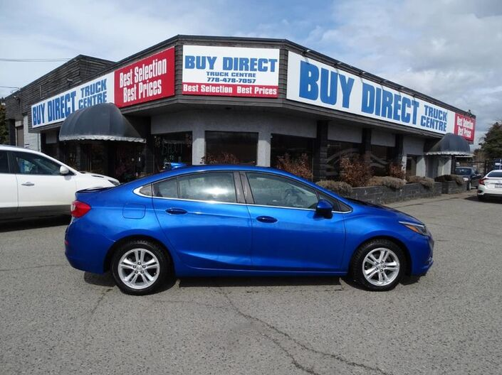 2016 Chevrolet Cruze LT Sunroof, Back-up Camera, Low KM's Penticton BC