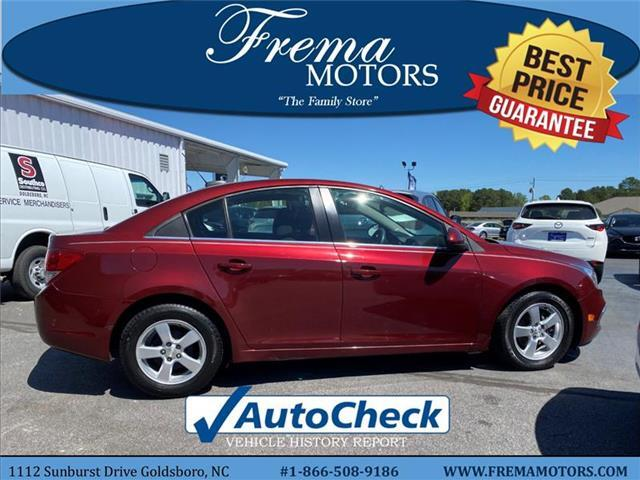 2016 Chevrolet Cruze Limited 1LT Auto Sedan Goldsboro NC