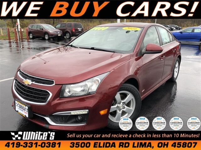 2016 Chevrolet Cruze Limited 1LT Lima OH
