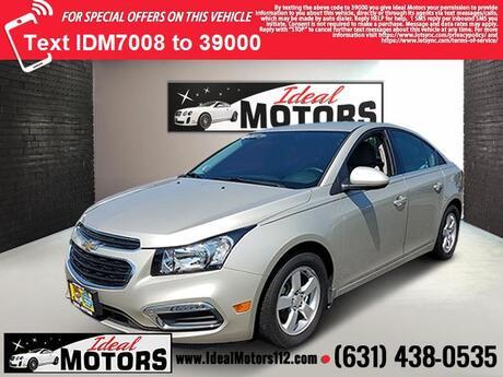 2016 Chevrolet Cruze Limited 4dr Sdn Auto LT w/1LT Medford NY