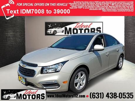 2016 Chevrolet Cruze Limited 4dr Sdn Auto LT w/1LT Medford NY