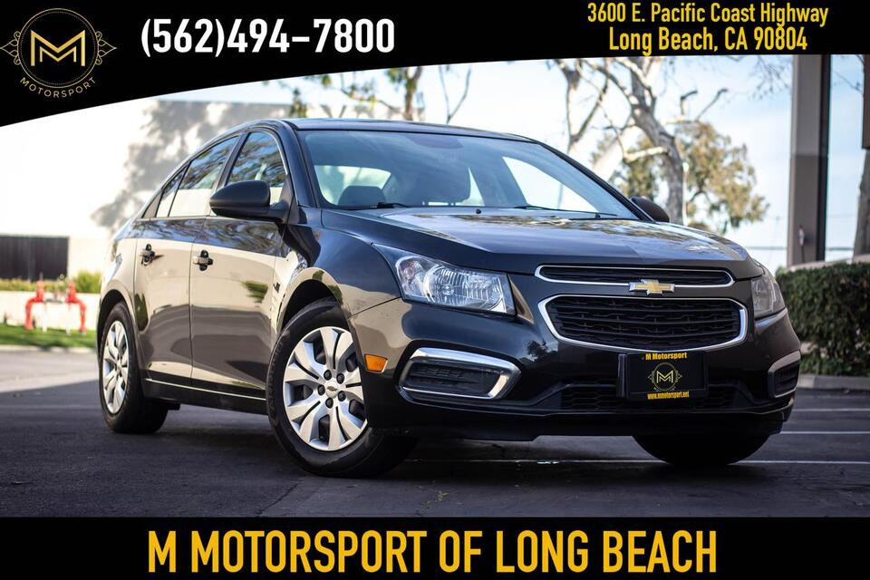 2016_Chevrolet_Cruze Limited_LS Sedan 4D_ Long Beach CA