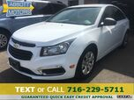2016 Chevrolet Cruze Limited LS w/Low Miles & Factory Warranty