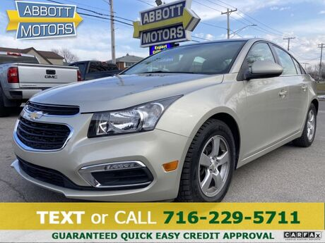 2016 Chevrolet Cruze Limited LT Sedan Buffalo NY