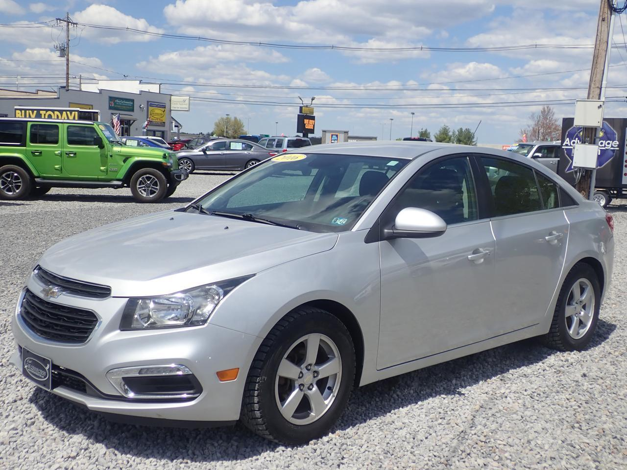 2016 Chevrolet Cruze Limited LT Turbo Cranberry PA