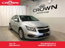 2016_Chevrolet_Cruze Limited_LT w/1LT /LOW KM/BACK UP CAM/BLUETOOTH/_ Winnipeg MB