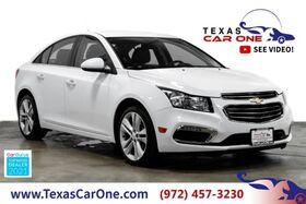 2016_Chevrolet_Cruze Limited_LTZ AUTOMATIC LEATHER HEATED SEATS REAR CAMERA KEYLESS START BLU_ Carrollton TX