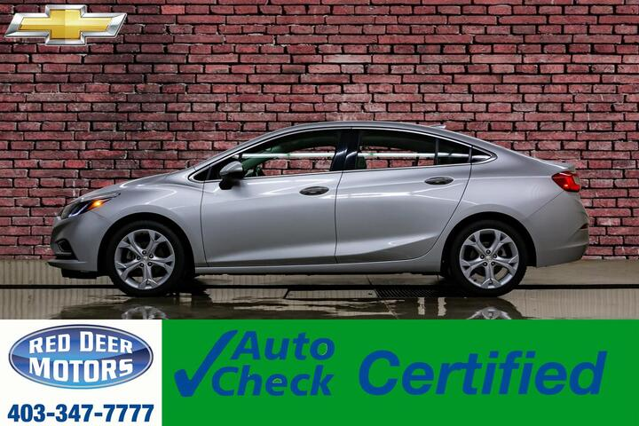 2016 Chevrolet Cruze Premier Leather Roof Nav BCam Red Deer AB