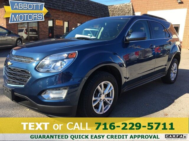 2016 Chevrolet Equinox LT AWD w/Back-Up Camera & Low Miles Buffalo NY