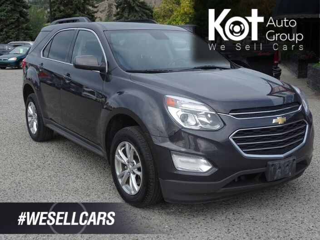 2016 Chevrolet Equinox LT, Sirius Radio, Bluetooth, Back-Up Camera Kelowna BC
