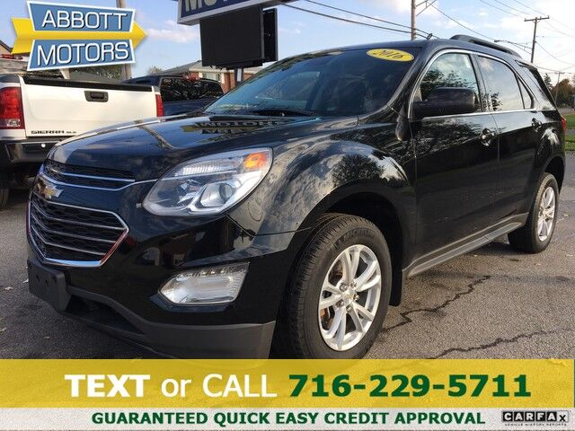 2016 Chevrolet Equinox LT Sport Utility w/Back-Up Camera & Low Miles Buffalo NY