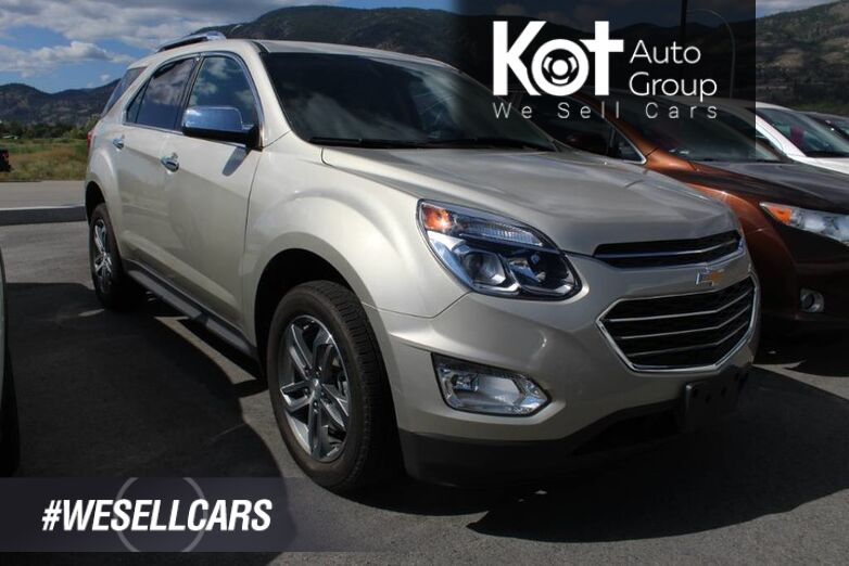 2016 Chevrolet Equinox LTZ, **Beautiful Inside and Out** One Owner, Clean Carfax Kelowna BC
