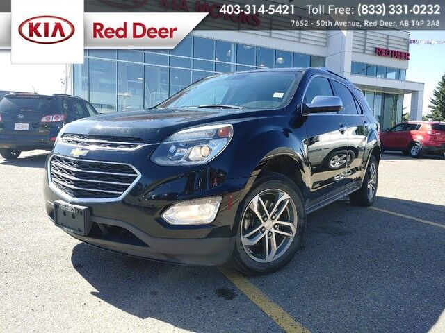 2016 Chevrolet Equinox LTZ Red Deer AB