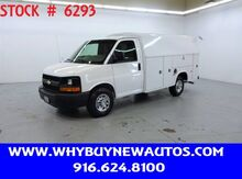 2016_Chevrolet_Express 3500_~ 10ft. Plumber Van ~ Only 46K Miles!_ Rocklin CA