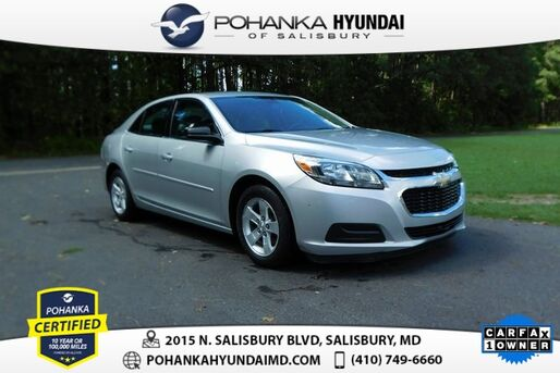 2016_Chevrolet_Malibu Limited_LS **ONE OWNER**_ Salisbury MD